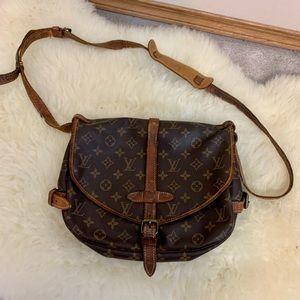 Authentic Louis Vuitton Saumur Crossbody bag